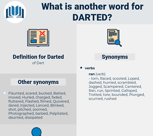 Darted, synonym Darted, another word for Darted, words like Darted, thesaurus Darted