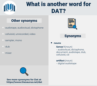 dat, synonym dat, another word for dat, words like dat, thesaurus dat
