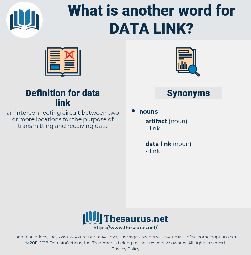 data link, synonym data link, another word for data link, words like data link, thesaurus data link