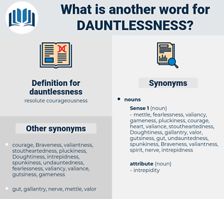 dauntlessness, synonym dauntlessness, another word for dauntlessness, words like dauntlessness, thesaurus dauntlessness