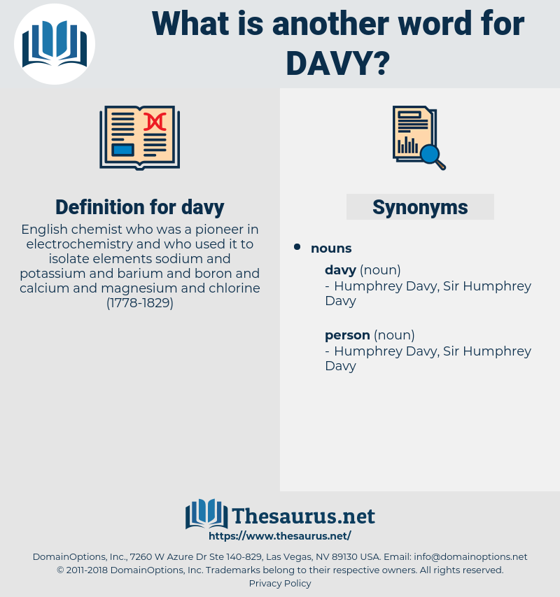 davy, synonym davy, another word for davy, words like davy, thesaurus davy