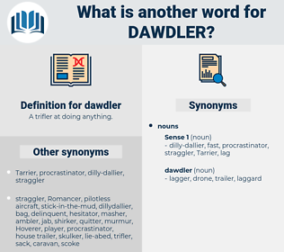dawdler, synonym dawdler, another word for dawdler, words like dawdler, thesaurus dawdler