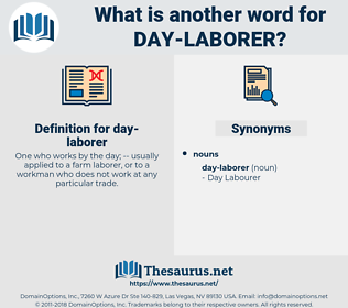 day laborer, synonym day laborer, another word for day laborer, words like day laborer, thesaurus day laborer