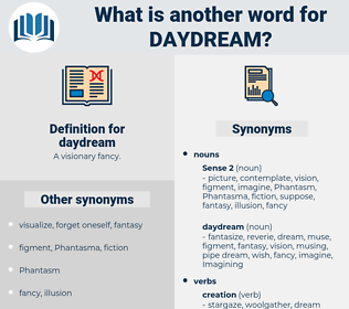 daydream, synonym daydream, another word for daydream, words like daydream, thesaurus daydream