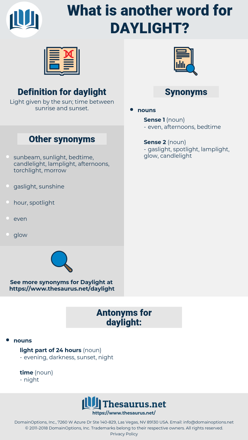 daylight, synonym daylight, another word for daylight, words like daylight, thesaurus daylight