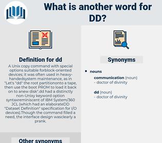 dd, synonym dd, another word for dd, words like dd, thesaurus dd