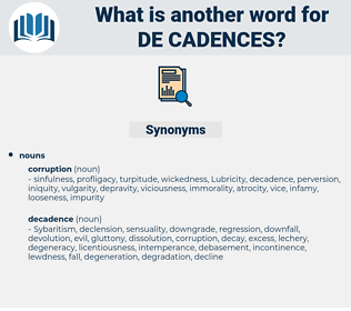 de cadences, synonym de cadences, another word for de cadences, words like de cadences, thesaurus de cadences