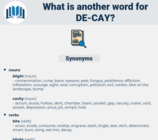 de cay, synonym de cay, another word for de cay, words like de cay, thesaurus de cay