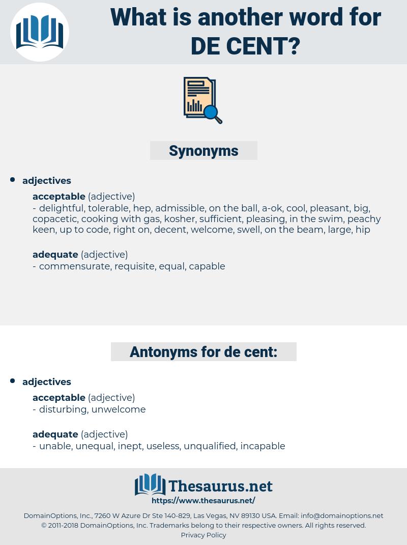 de cent, synonym de cent, another word for de cent, words like de cent, thesaurus de cent