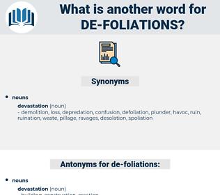 de-foliations, synonym de-foliations, another word for de-foliations, words like de-foliations, thesaurus de-foliations
