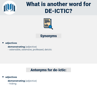 de-ictic, synonym de-ictic, another word for de-ictic, words like de-ictic, thesaurus de-ictic