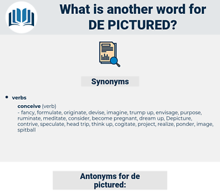 de pictured, synonym de pictured, another word for de pictured, words like de pictured, thesaurus de pictured