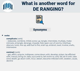 de ranging, synonym de ranging, another word for de ranging, words like de ranging, thesaurus de ranging