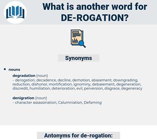 de-rogation, synonym de-rogation, another word for de-rogation, words like de-rogation, thesaurus de-rogation
