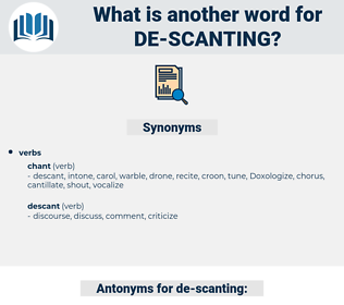 de-scanting, synonym de-scanting, another word for de-scanting, words like de-scanting, thesaurus de-scanting