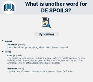 de-spoils, synonym de-spoils, another word for de-spoils, words like de-spoils, thesaurus de-spoils