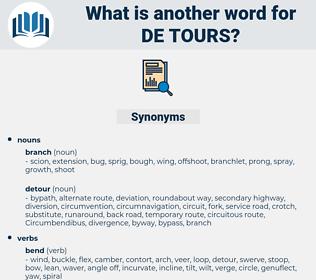 de tours, synonym de tours, another word for de tours, words like de tours, thesaurus de tours
