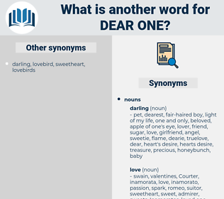 dear one, synonym dear one, another word for dear one, words like dear one, thesaurus dear one