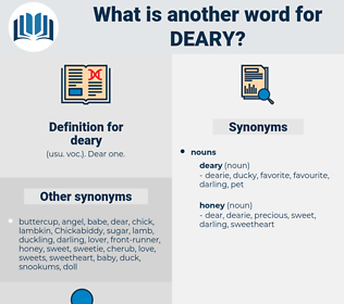 deary, synonym deary, another word for deary, words like deary, thesaurus deary