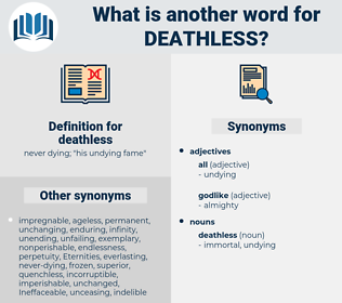 deathless, synonym deathless, another word for deathless, words like deathless, thesaurus deathless
