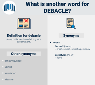 debacle, synonym debacle, another word for debacle, words like debacle, thesaurus debacle