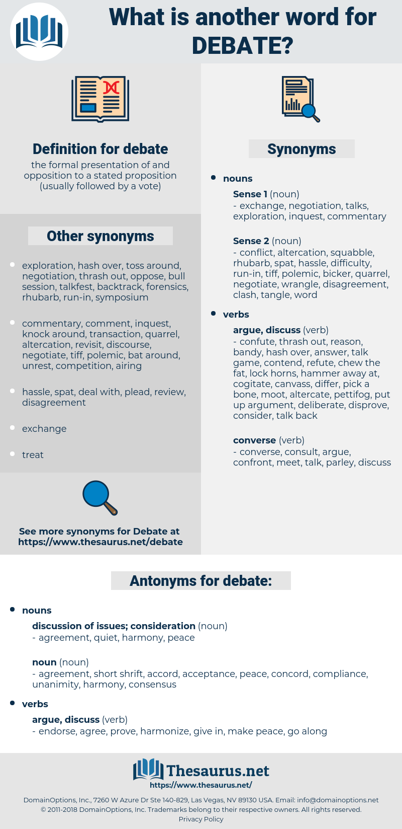 debate, synonym debate, another word for debate, words like debate, thesaurus debate