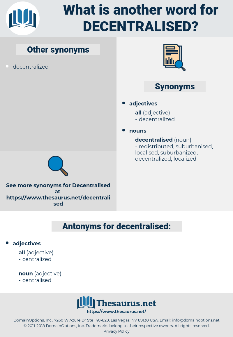 decentralised, synonym decentralised, another word for decentralised, words like decentralised, thesaurus decentralised