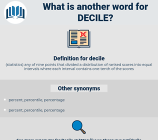 decile, synonym decile, another word for decile, words like decile, thesaurus decile
