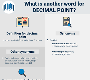 decimal point, synonym decimal point, another word for decimal point, words like decimal point, thesaurus decimal point