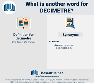 decimetre, synonym decimetre, another word for decimetre, words like decimetre, thesaurus decimetre