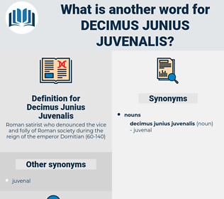 Decimus Junius Juvenalis, synonym Decimus Junius Juvenalis, another word for Decimus Junius Juvenalis, words like Decimus Junius Juvenalis, thesaurus Decimus Junius Juvenalis