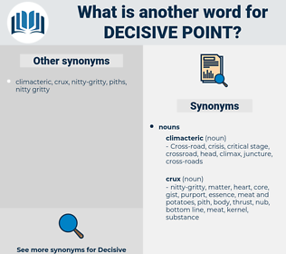decisive point, synonym decisive point, another word for decisive point, words like decisive point, thesaurus decisive point