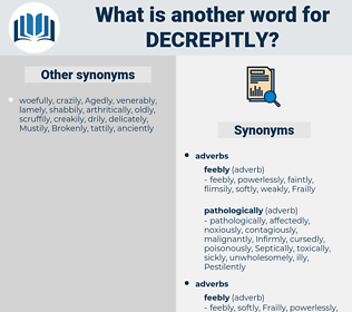 decrepitly, synonym decrepitly, another word for decrepitly, words like decrepitly, thesaurus decrepitly