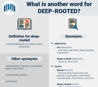 deep rooted, synonym deep rooted, another word for deep rooted, words like deep rooted, thesaurus deep rooted