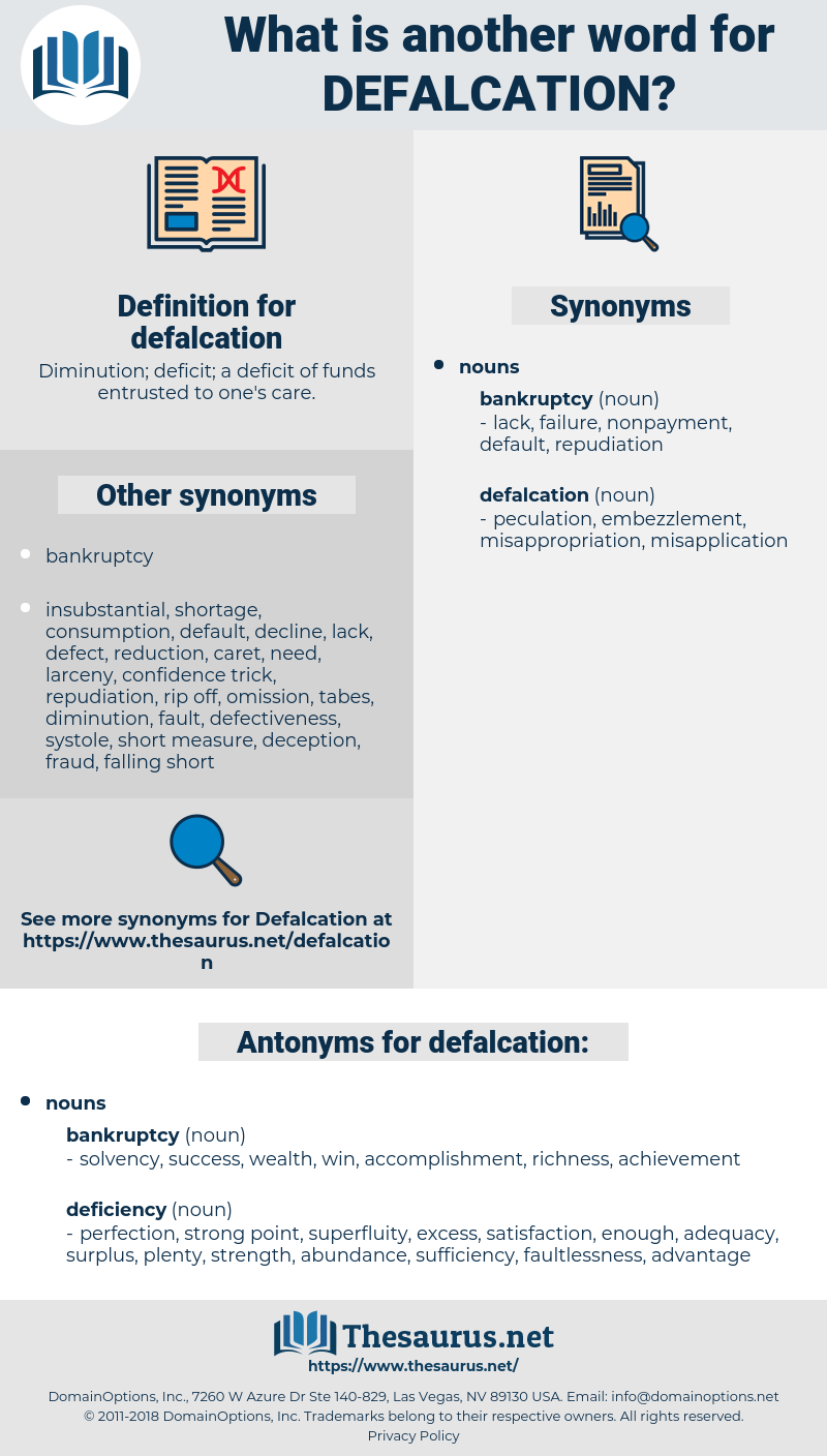 defalcation, synonym defalcation, another word for defalcation, words like defalcation, thesaurus defalcation