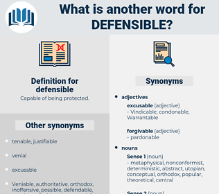 defensible, synonym defensible, another word for defensible, words like defensible, thesaurus defensible