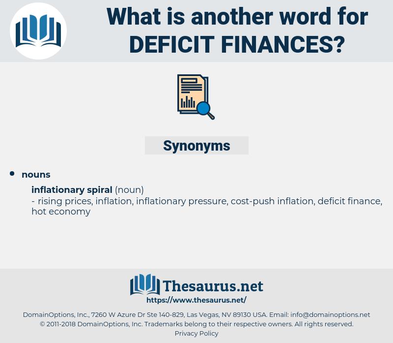 deficit finances, synonym deficit finances, another word for deficit finances, words like deficit finances, thesaurus deficit finances