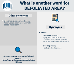 defoliated area, synonym defoliated area, another word for defoliated area, words like defoliated area, thesaurus defoliated area
