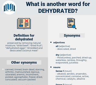 dehydrated, synonym dehydrated, another word for dehydrated, words like dehydrated, thesaurus dehydrated