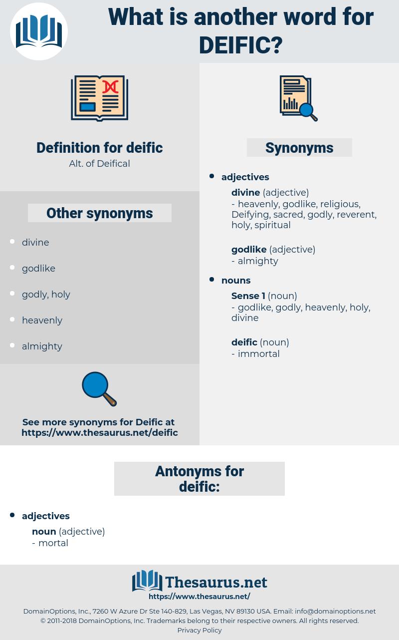 deific, synonym deific, another word for deific, words like deific, thesaurus deific