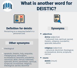 deistic, synonym deistic, another word for deistic, words like deistic, thesaurus deistic