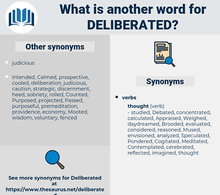 Deliberated, synonym Deliberated, another word for Deliberated, words like Deliberated, thesaurus Deliberated