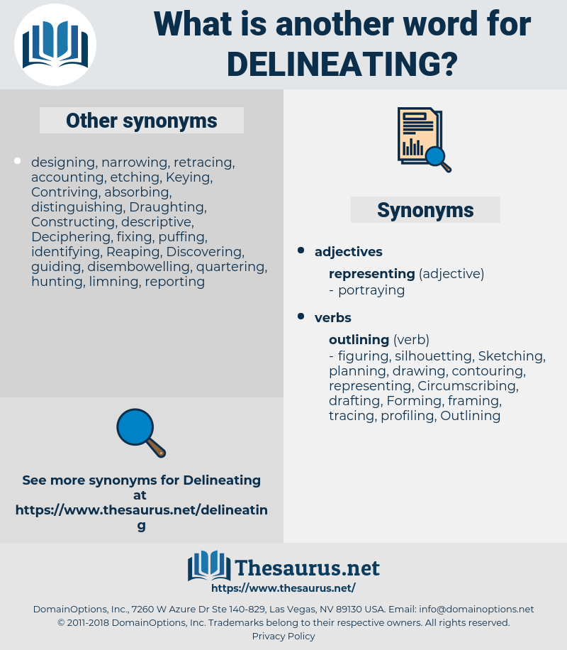 Delineating, synonym Delineating, another word for Delineating, words like Delineating, thesaurus Delineating