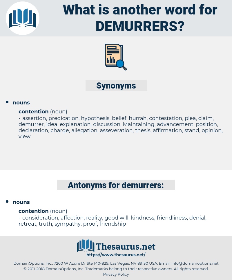 demurrers, synonym demurrers, another word for demurrers, words like demurrers, thesaurus demurrers