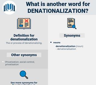 denationalization, synonym denationalization, another word for denationalization, words like denationalization, thesaurus denationalization