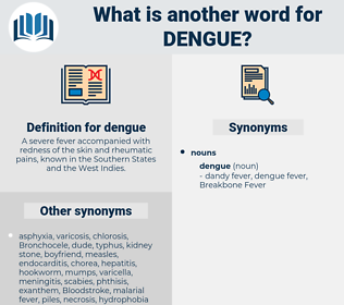 dengue, synonym dengue, another word for dengue, words like dengue, thesaurus dengue