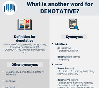 denotative, synonym denotative, another word for denotative, words like denotative, thesaurus denotative