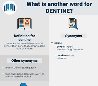 dentine, synonym dentine, another word for dentine, words like dentine, thesaurus dentine