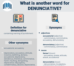 denunciative, synonym denunciative, another word for denunciative, words like denunciative, thesaurus denunciative