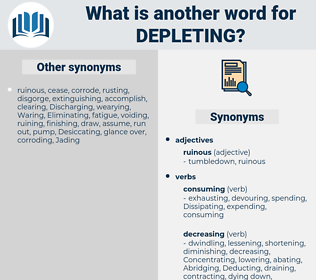 Depleting, synonym Depleting, another word for Depleting, words like Depleting, thesaurus Depleting